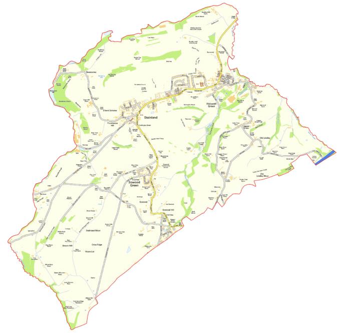 Stainland & District Map